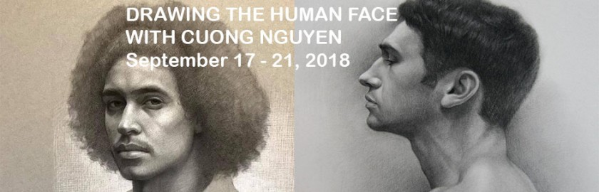 Drawing Faces with Cuong Nguyen
