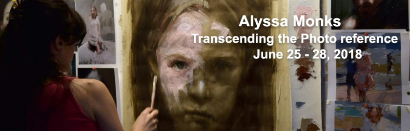 Alyssa Monks transcending the photo reference