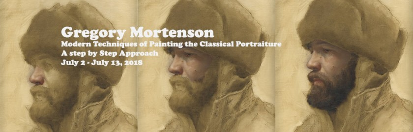 classical art training Europe in Europe with Gregory Mortenson