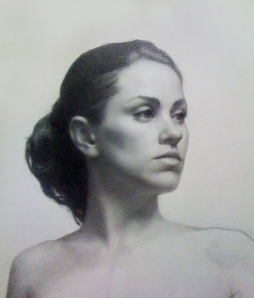 Cunningham_Amber_graphite on paper