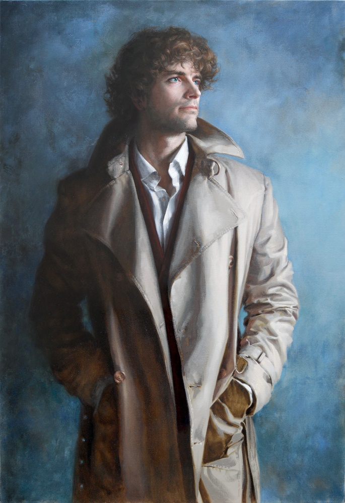 Wolf_Self_Portrait_in_Eastern_European_Trenchcoat_ooc_2010_130x90cm-large