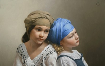 David Gray's Classical Portrait Painting